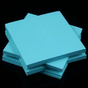 Both side colour origami, blue, 6.5cm x 6.5cm, 200 sheets, (Papers not perfectly square - sold at a discount), [KY691]